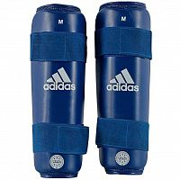 Защита Голени Adidas Wako Kickboxing Shin Guards adiWAKOSG01-blue