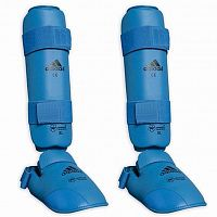 Защита Голени И Стопы Adidas Wkf Shin And Removable Foot 661-35-blue