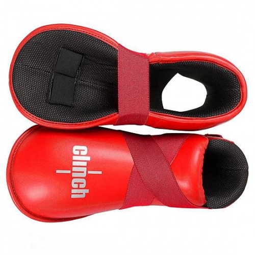 Футы Для Кикбоксинга Clinch Safety Foot Kick C523 C523-red фото 2