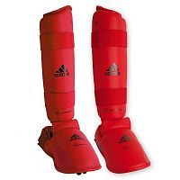 Защита Голени И Стопы Adidas Wkf Shin And Removable Foot 661-35-red